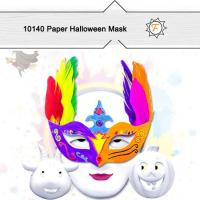 Buy cheap Clowns Paper Halloween Masks for Crafts Kids product
