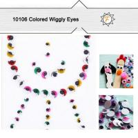 Buy cheap Colored Assorted Big Huge DIY Toy Wiggly Eyes for Kids Age 3+,safe,non Toxic product