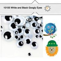 Buy cheap 6mm--25mm Self Adhesive Sticky Black and White Googly Eyes for Crafts and Hobby Wholesale product