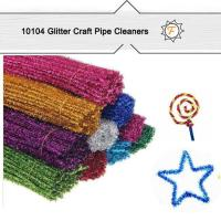 Buy cheap Glitter Sparkle Long Large China Chenille Stems for Crafts product
