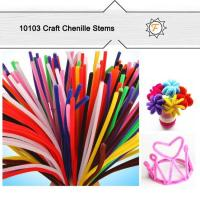 "Buy cheap standard 6mm 12"" craft bulk pipe cleaners for hobby and craft supplies product"