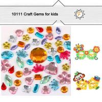 Buy cheap Colorful Loose Assorted Size and Shapes Rhinestones for Art and Crafts Suppllies Kids Age 3+ Safe product