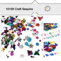 Buy cheap Multi-color Size and Shapes Bulk DIY Safe Perfect Sequins for Craft Supplies product