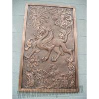 Buy cheap Ancient and Attractive Kylin Wall Relief Art Sculpture from wholesalers