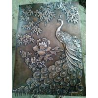 Buy cheap Large Metal Wall Art Relief Sculpture as Hall Decoration from wholesalers