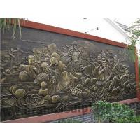 Buy cheap Outer Ancient Fiberglass Figures Sculpture Wall Art as Decoration from wholesalers