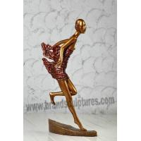 China Abstract Varnished Fiberglass Marvel Statues as Garden Decoration on sale