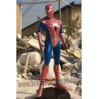 Buy cheap Giant Handsome Fiberglass Spider-man Sculpture as Outdoor Decoration from wholesalers