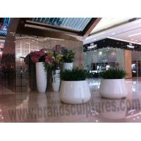 Buy cheap Huge Beautiful Resin Planters Sculptures as KTV Ornament from wholesalers