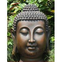 Buy cheap Outer Creating Brass Buddha Sculptures for Holiday Decoration from wholesalers