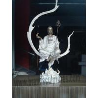 China Interior Monk Buddha Art Brass Statues for Home Ornament on sale