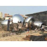 Buy cheap Polished and Glossy Mushroom Metal Sculptures for Lawn Ornaments from wholesalers