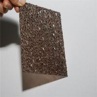 Buy cheap PC Material Polycarbonate Panel,embossed Polycarbonate Sheet Price from wholesalers