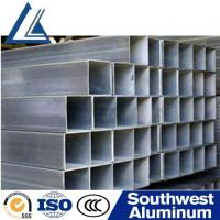 Buy cheap Polished 6061 T6 1.5inch Standard Aluminum Square Tube Sizes from wholesalers