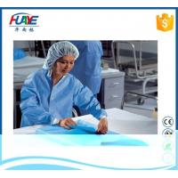 Buy cheap Medical Hospital Blue Green PP Protective Cloth SMS SMMS Waterproof Nonwoven Fabric from wholesalers