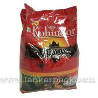 Buy cheap Rice Packaging Fin Seal Pouch Bag with Handle from wholesalers