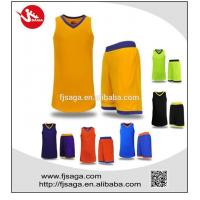 Buy cheap Custom Jerseys Basketball Uniforms Breathable Clothes from wholesalers