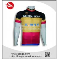 Buy cheap Mens Cycling Jersey Half Sleeve Sublimation Racing Biking Outdoor Sportswear from wholesalers