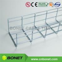 Buy cheap 150x100 Steel Basket Tray Cable Management from wholesalers