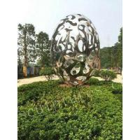 Buy cheap Public and Contemporary Ball Stainless Steel Wax Sculpture from wholesalers
