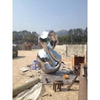 Buy cheap Polished Eight Shape Metal Steel Outdoor Garden Statues from wholesalers