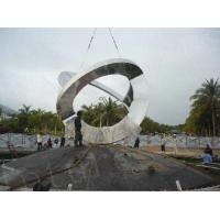 Buy cheap Large Outdoor Landscape Ornaments Art Stainless Steel Statues from wholesalers