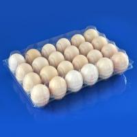 Buy cheap 24 Holes Clamshells Plastic Egg Packaging Tray from wholesalers