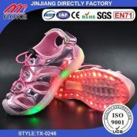 Buy cheap New Arrival Kids LED Shoes Boys Girls Luminous LED Flash Light Sandals from wholesalers