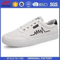 Buy cheap Casual Sneakers Lace-up Boasts Cotton Canvas Upper High Top Quality Casual Shoes from wholesalers