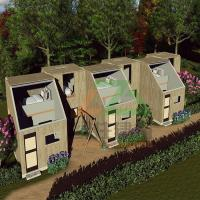 Buy cheap Modern Affordable Container House for Residents Homes with OSB and EPS Board Sandwich Panel from wholesalers