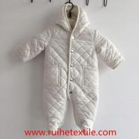 Buy cheap Winter White Quilted Snowsuit One Piece Jumpsuit for Baby Boys from wholesalers