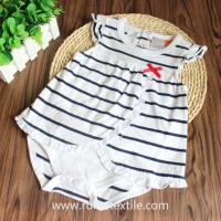 Buy cheap Stylish Striped Bodysuit Cute Cotton Romper for Baby Girls from wholesalers