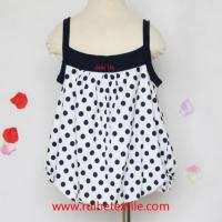 Buy cheap Cute Girl Baby Summer Clothes Printed Toddler Girl Trapeze Dress from wholesalers