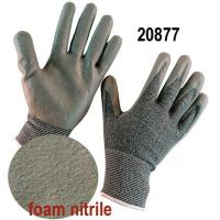 Buy cheap Economy Foam Nitrile Palm Coated Work Gloves China with Nitrile Dotting from wholesalers