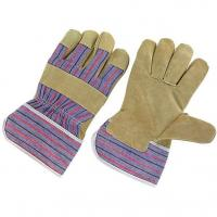 Buy cheap Pig Leather Working Gloves China Pig Skin Pig Split Leather Gloves from wholesalers