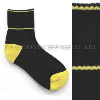 Buy cheap Socks Over Ankle Fleece Black Sports Socks from wholesalers
