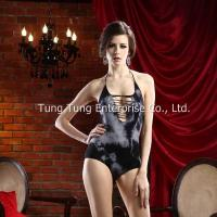 Buy cheap Women's Lingerie Glamour Halter Hand Dyed Sexy Teddy Clubwear from wholesalers