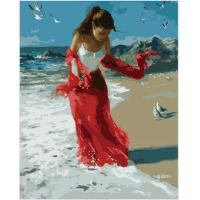 Buy cheap People Portrait Wall Oil Painting On Canvas by Numbers Set from wholesalers