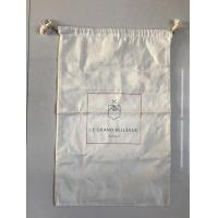 Buy cheap Fabric Material Canvas Laundry Bags with Drawstring from wholesalers