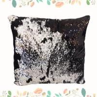 Buy cheap New Hot Sale PVC Sequin Throw Pillow For Home Used Spangle Cushion from wholesalers