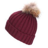 Buy cheap Autumn Winter Knitted Wool Hats for Women Fashion Pompon Beanies Fur Knitting Hat Female Warm Caps w from wholesalers