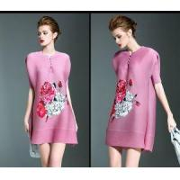 Buy cheap Pink Plus Size Dress With Prints from wholesalers