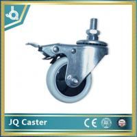 Buy cheap 75mm Thread Stem Industrial Caster Wheel with Brake from wholesalers