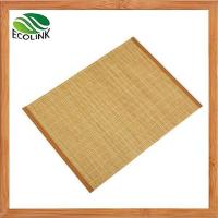 Buy cheap Multi-colors Bamboo Mat Table Runner Placemat Tablemat Set from wholesalers
