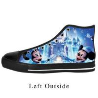 Buy cheap Custom Disney Mickey High Top Canvas Shoes Sneakers from wholesalers