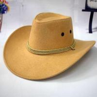 Buy cheap Hot Sale New Unisex Fashion Western Cowboy Hat Tourist Cap Outdoor Hat Western Hat from wholesalers