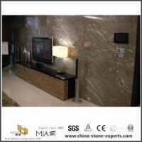 Buy cheap Open Modern Flower Handmade Marble Fireplace Design from wholesalers