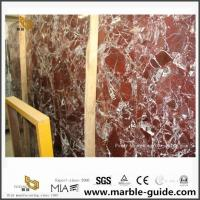 Buy cheap Red Rosso Lepanto Marble Slabs For Bathroom Floor Tiles From Quarry Direct from wholesalers