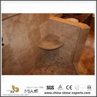 Buy cheap Custom Italy Polished Noce Coffee Brown Travertine Slab for Bathroom from Stone Company from wholesalers