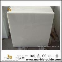 Buy cheap Classic Crystal White Marble Tiles For Bathroom Flooring Tiles from wholesalers